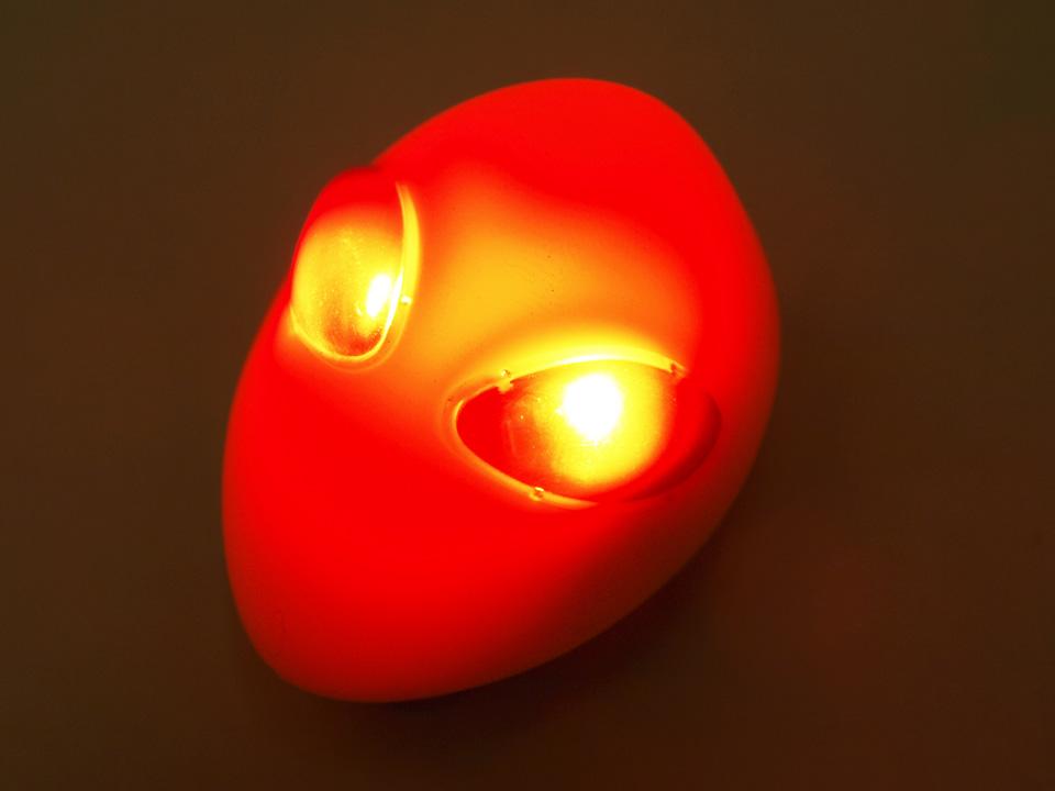 Topeak Alienlux 点灯