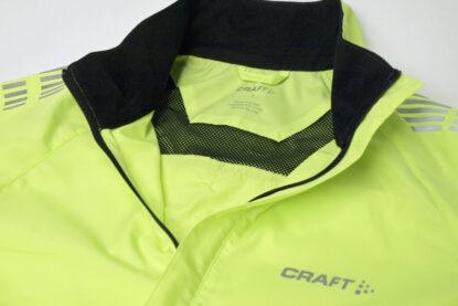 クラフト アクティブバイク ウインドジャケット 襟元