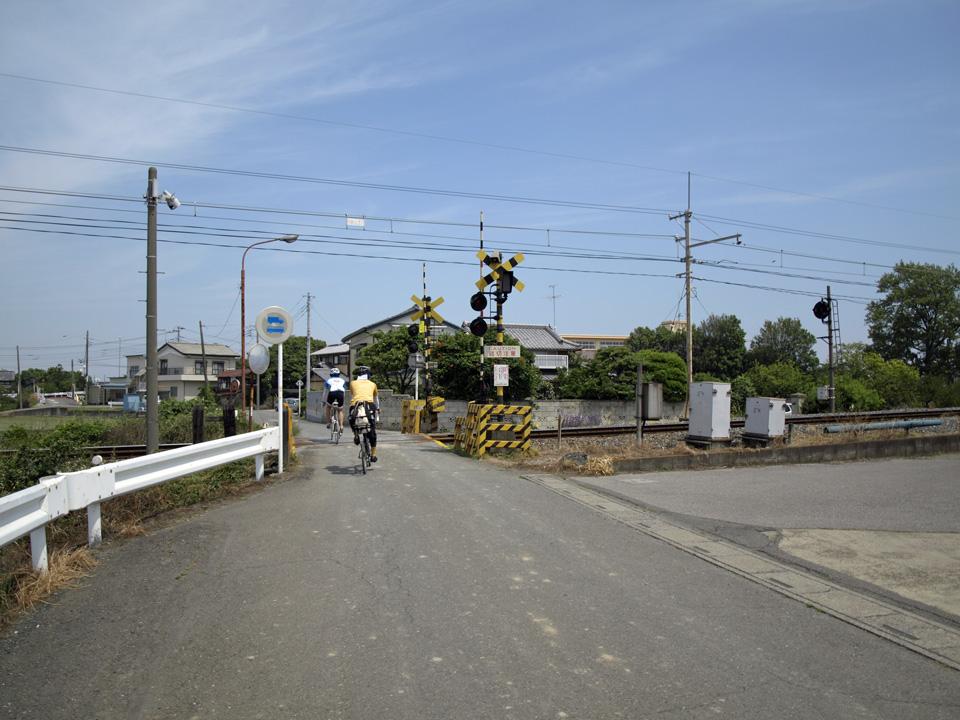 秩父鉄道の踏切