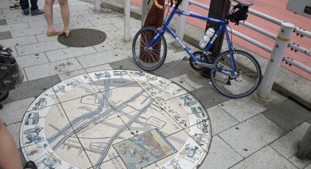 新宿追分の道標