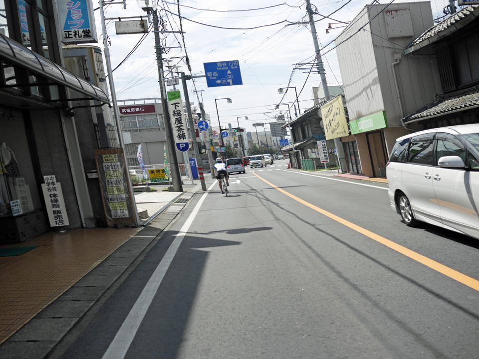 ふらふらになりながら加須市街地へ到達