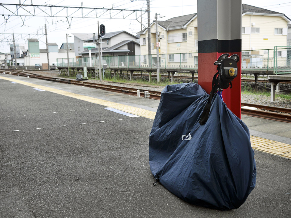 加須駅から東武線で輪行して帰ることにした