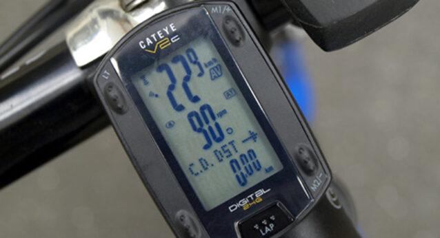 通勤時の平均速度と平均ケイデンス