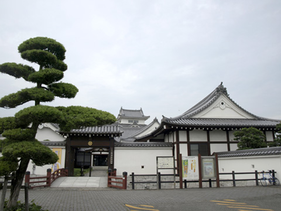 お城の正体は関宿城博物館でした