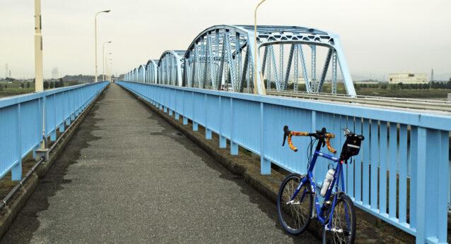 上武大橋を渡って群馬県へ