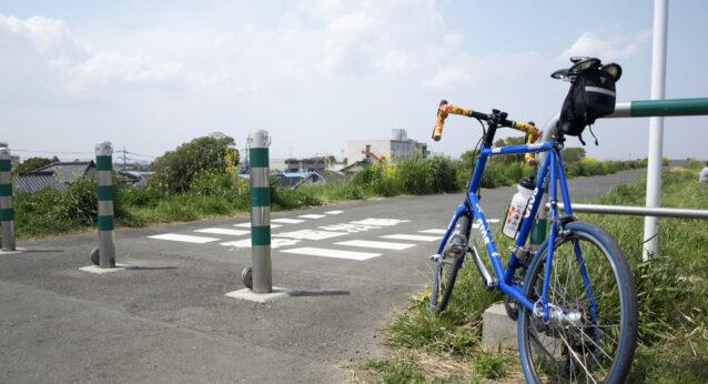 志木市総合運動場付近で折り返す前にGIOS FELUCAを撮影