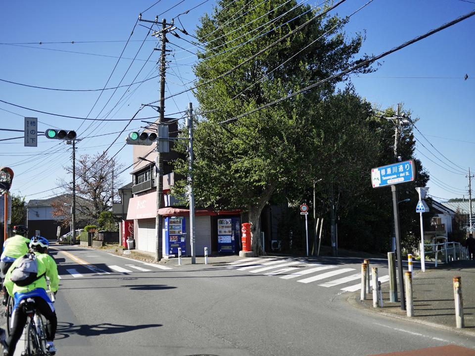 柳瀬川通りを西進して所沢を目指す