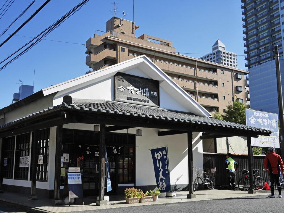 深井醤油(ヤマホ醤油)の直売所
