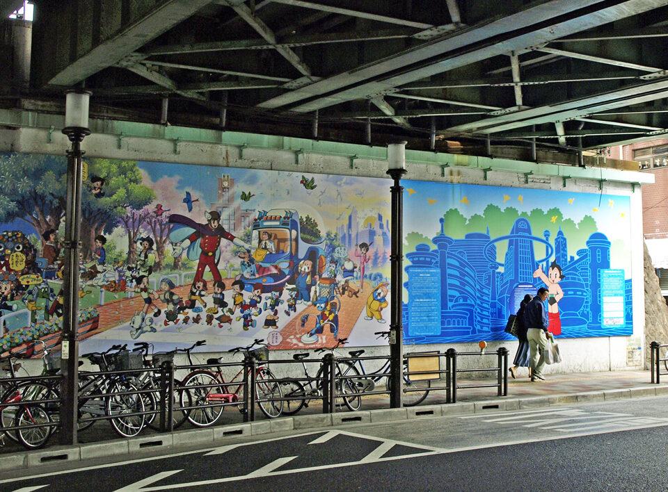 高田馬場駅ガード下