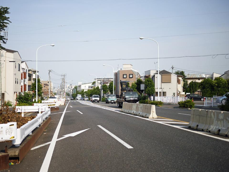 井ノ頭通りは代々木上原を過ぎて世田谷区北沢へ