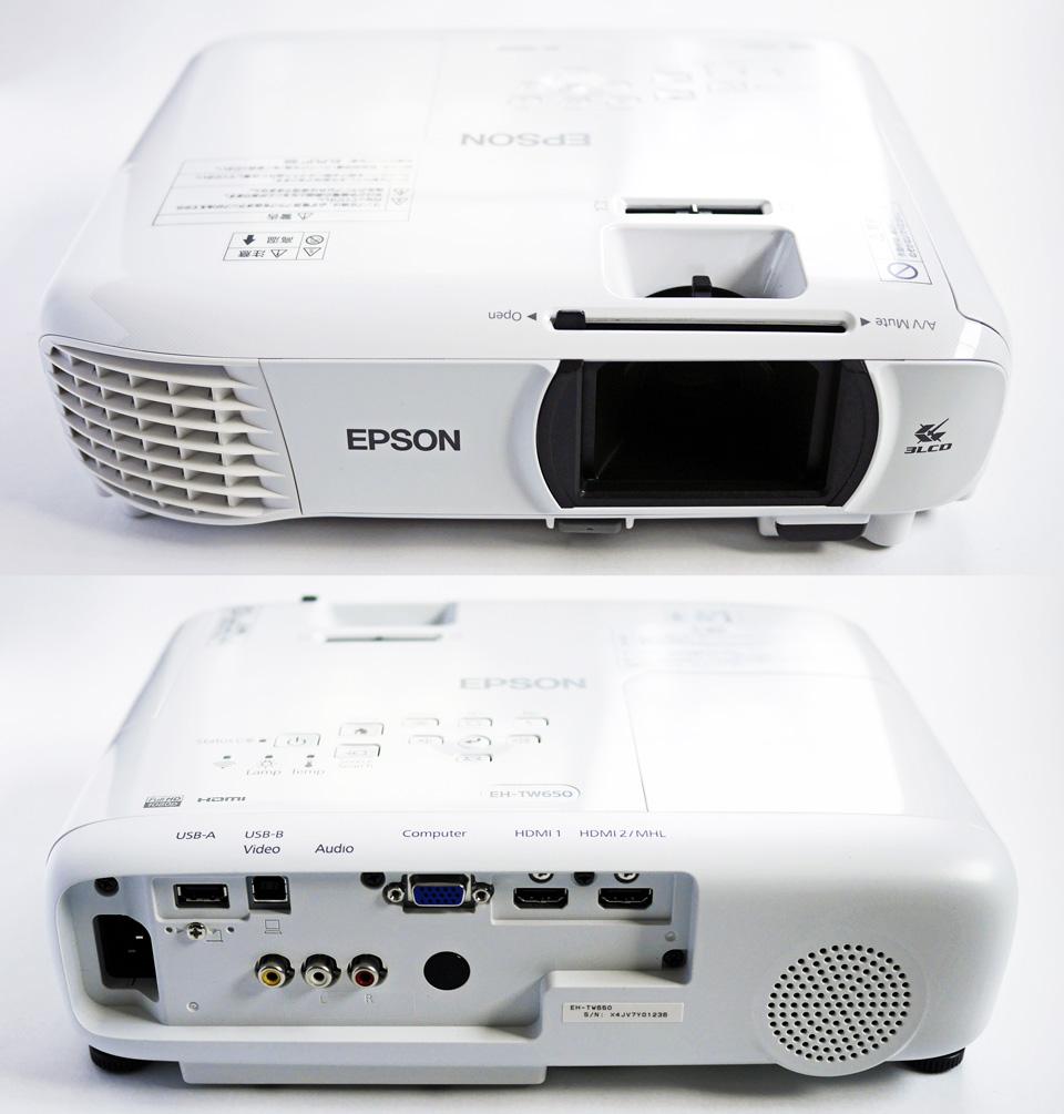ホームプロジェクター dreamio EH-TW650