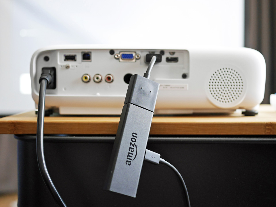 dreamio EH-TW650 に Fire TV Stick を接続