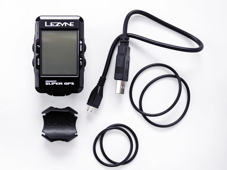 LEZYNE SUPER GPS ハードウェア一式