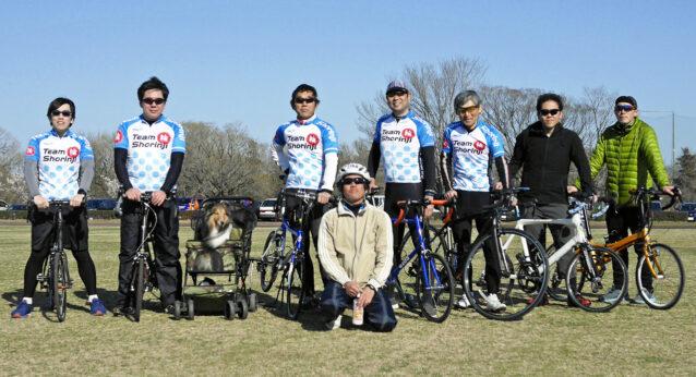 TOKYOエンデューロ2019に出走したチーム小輪爺メンバー