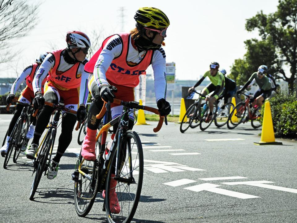 TOKYOエンデューロ2019の先導は弱虫ペダルサイクリングチーム