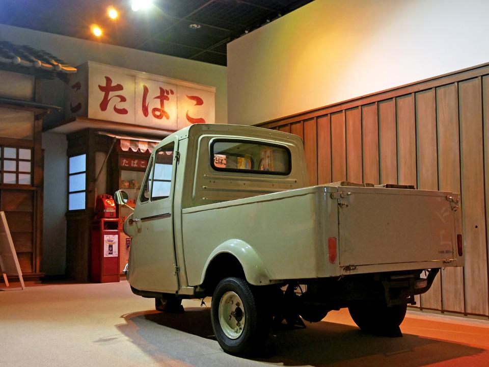 石神井公園ふるさと文化館に常設展示された昭和な風景
