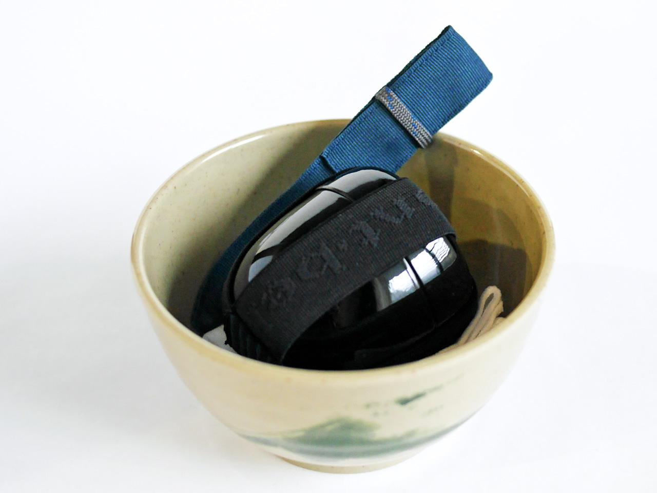モンベル 野点茶碗 棗 茶杓 茶巾