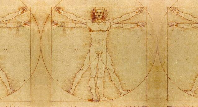 ウィトルウィウス的人体図