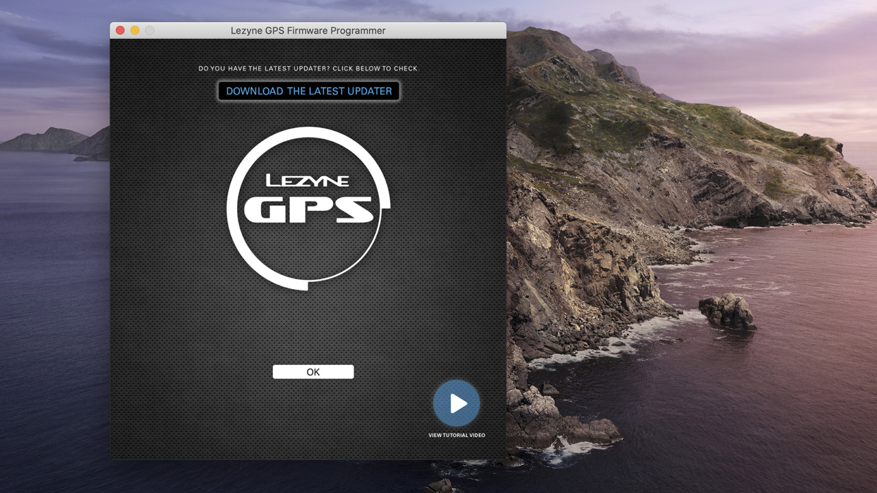 LEZYNE SUPER GPS アップデート