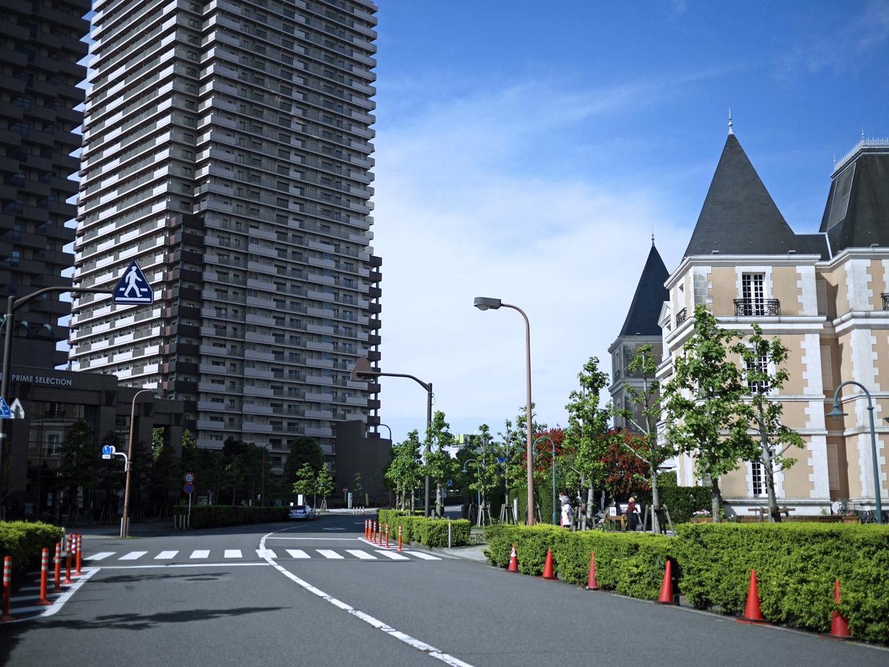 恵比寿ガーデンプレイスを周って三田橋へ