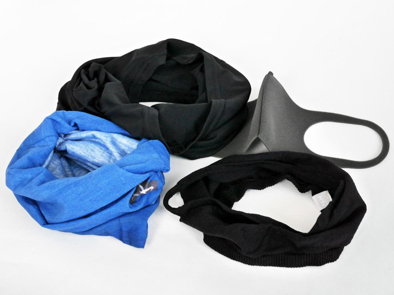 夏場のサイクリングに適したマスクを探す