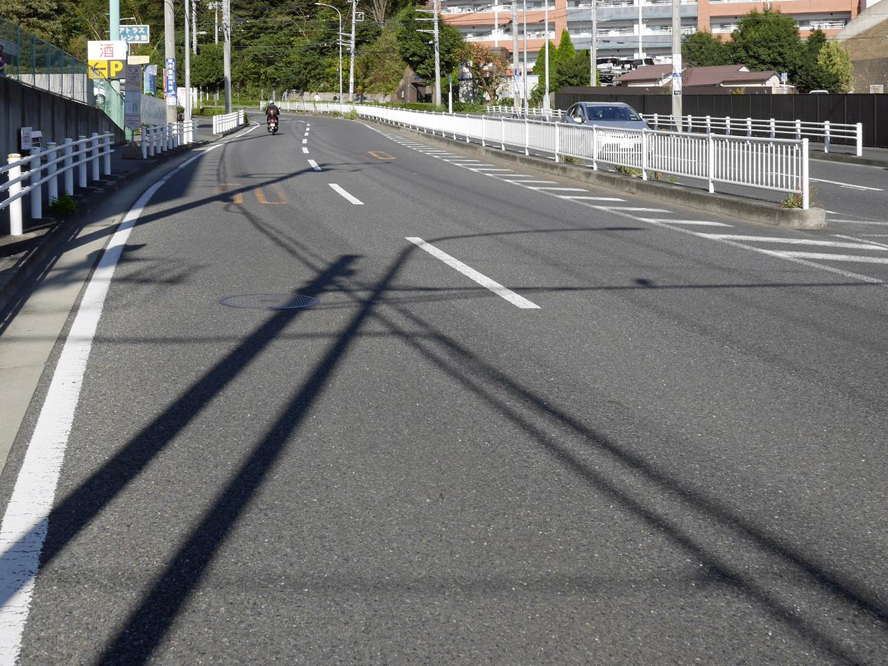 鎌倉街道は登り基調