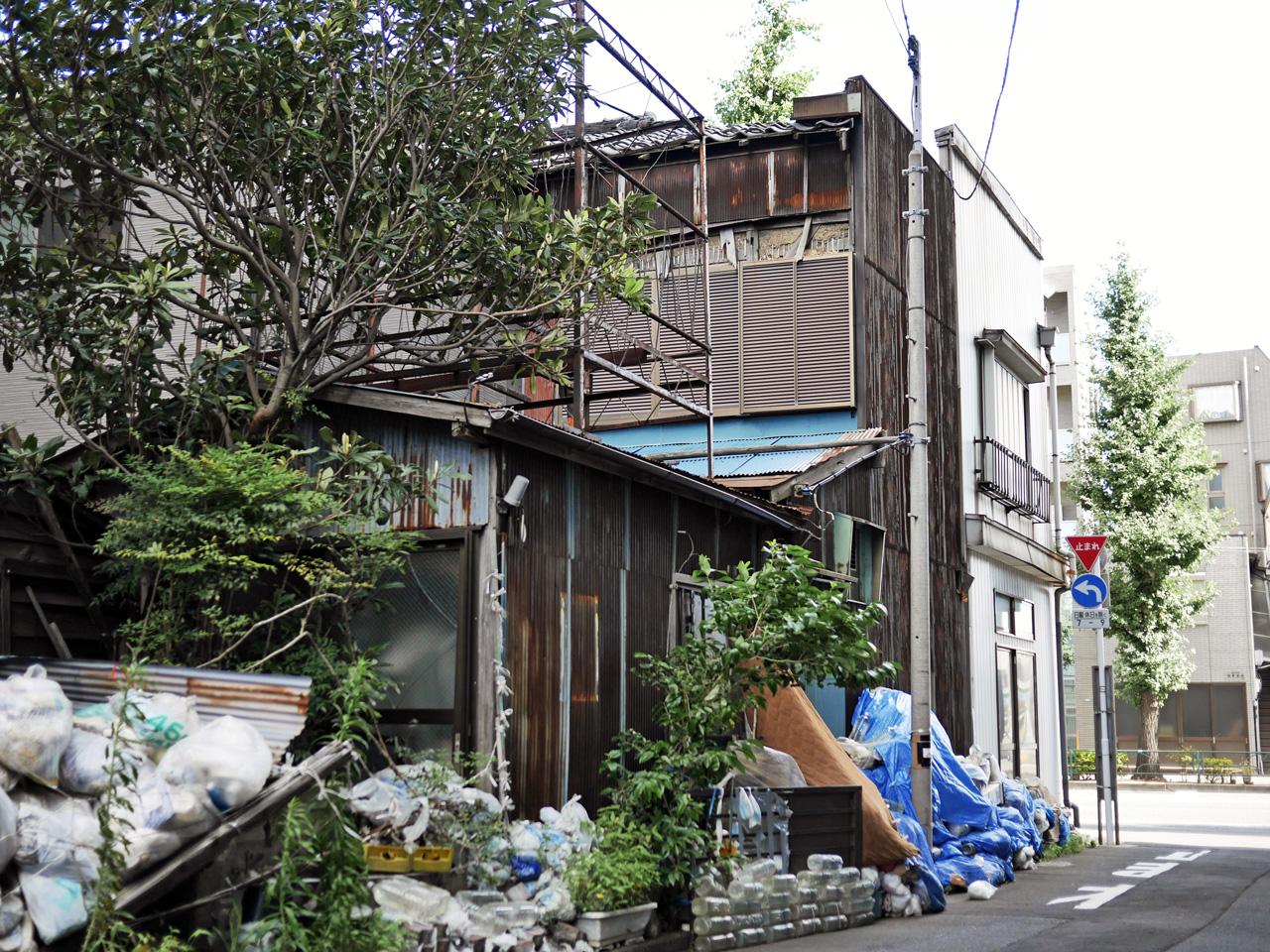 スタジオゼロ中野社屋っぽい廃屋