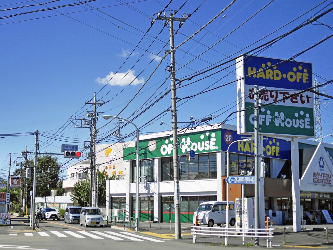 クルマで混む小金井街道を南下